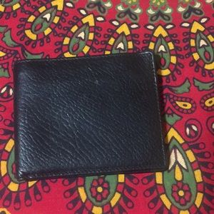 COACH Vintage Black Leather BiFold Men's Wallet